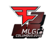 Sticker FaZe Clan | MLG Columbus 2016