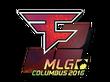 Sticker FaZe Clan (Holo) | MLG Columbus 2016