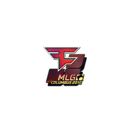 Sticker | FaZe Clan (Holo) | MLG Columbus 2016
