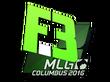 Sticker Flipsid3 Tactics | MLG Columbus 2016