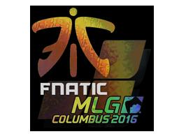 Sticker | Fnatic (Holo) | MLG Columbus 2016