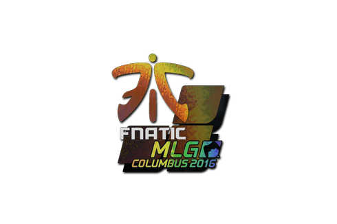 Sticker | Fnatic (Holo) | MLG Columbus 2016 Prices