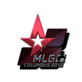 Sticker | Astralis <br>(Foil) | MLG Columbus 2016
