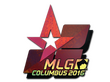 Sticker Astralis (Holo) | MLG Columbus 2016