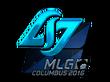 Sticker Counter Logic Gaming (Foil)   MLG Columbus 2016