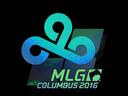Sticker | Cloud9 (Holo) | MLG Columbus 2016
