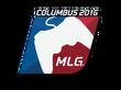 Sticker MLG   MLG Columbus 2016