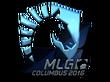 Sticker Team Liquid (Foil)   MLG Columbus 2016