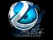 Sticker Luminosity Gaming (Foil) | MLG Columbus 2016