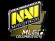 Sticker Natus Vincere | MLG Columbus 2016
