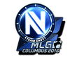 Sticker Team EnVyUs (Foil) | MLG Columbus 2016