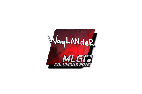 Sticker | wayLander (Foil) | MLG Columbus 2016 Prices
