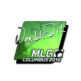 WorldEdit (Foil) | MLG Columbus 2016