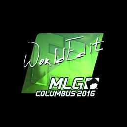 WorldEdit (Foil) | MLG Columbus 2016