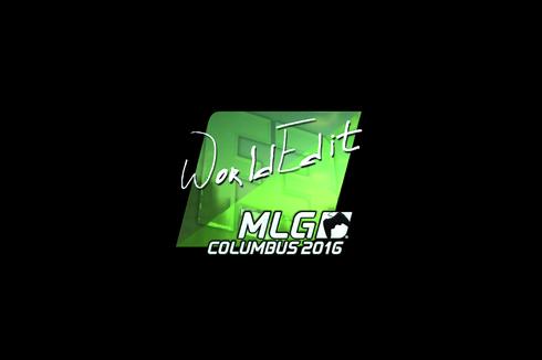 Sticker | WorldEdit (Foil) | MLG Columbus 2016 Prices