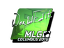 Skin Sticker | WorldEdit (Foil) | MLG Columbus 2016