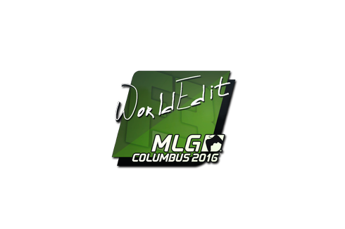 Sticker | WorldEdit | MLG Columbus 2016 Prices