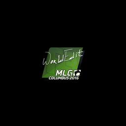 Sticker | WorldEdit | MLG Columbus 2016