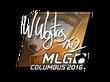 Sticker TaZ (Foil) | MLG Columbus 2016