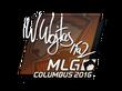 Sticker TaZ   MLG Columbus 2016