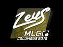 Sticker   Zeus   MLG Columbus 2016