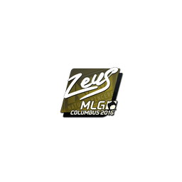 Sticker | Zeus | MLG Columbus 2016