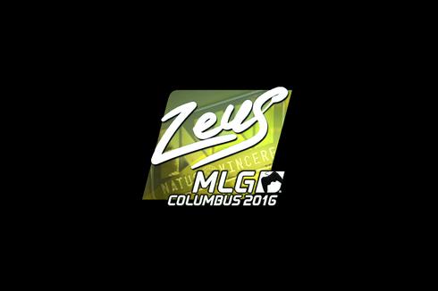 Sticker | Zeus (Foil) | MLG Columbus 2016 Prices