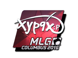 Sticker | Xyp9x (Foil) | MLG Columbus 2016