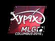 Sticker Xyp9x (Foil) | MLG Columbus 2016