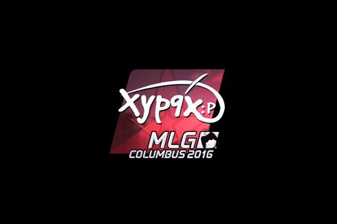 Sticker | Xyp9x (Foil) | MLG Columbus 2016 Prices