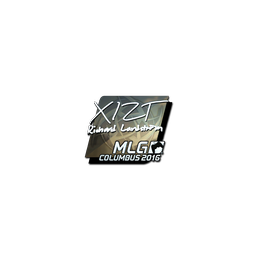 Sticker | Xizt (Foil) | MLG Columbus 2016