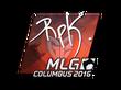 Sticker RpK (Foil) | MLG Columbus 2016