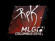 Sticker RpK   MLG Columbus 2016