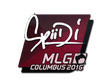 Sticker Spiidi | MLG Columbus 2016