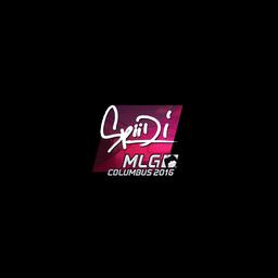 Sticker   Spiidi (Foil)   MLG Columbus 2016