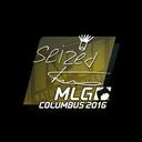 Sticker | seized | MLG Columbus 2016
