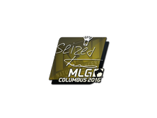 Skin Sticker | seized | MLG Columbus 2016