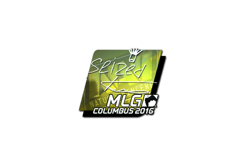 Sticker | seized (Foil) | MLG Columbus 2016 Prices