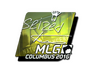 Skin Sticker | seized (Foil) | MLG Columbus 2016