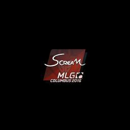 Sticker | ScreaM | MLG Columbus 2016