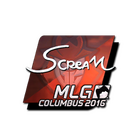 Sticker | ScreaM (Foil) | MLG Columbus 2016