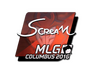 Skin Sticker | ScreaM (Foil) | MLG Columbus 2016