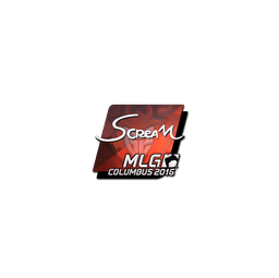 Sticker | ScreaM (Foil) | MLG Columbus 2016