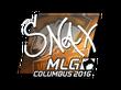 Sticker Snax (Foil)   MLG Columbus 2016