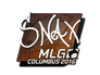 Skin Sticker | Snax | MLG Columbus 2016