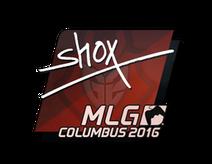 Sticker   shox   MLG Columbus 2016