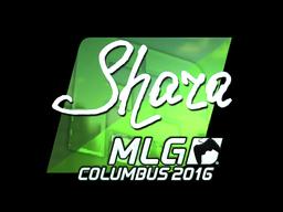 Наклейка | Shara (металлическая) | MLG Columbus 2016