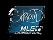 Sticker shroud | MLG Columbus 2016