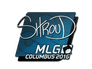 Skin Sticker | shroud | MLG Columbus 2016