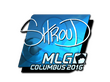 Sticker shroud (Foil) | MLG Columbus 2016
